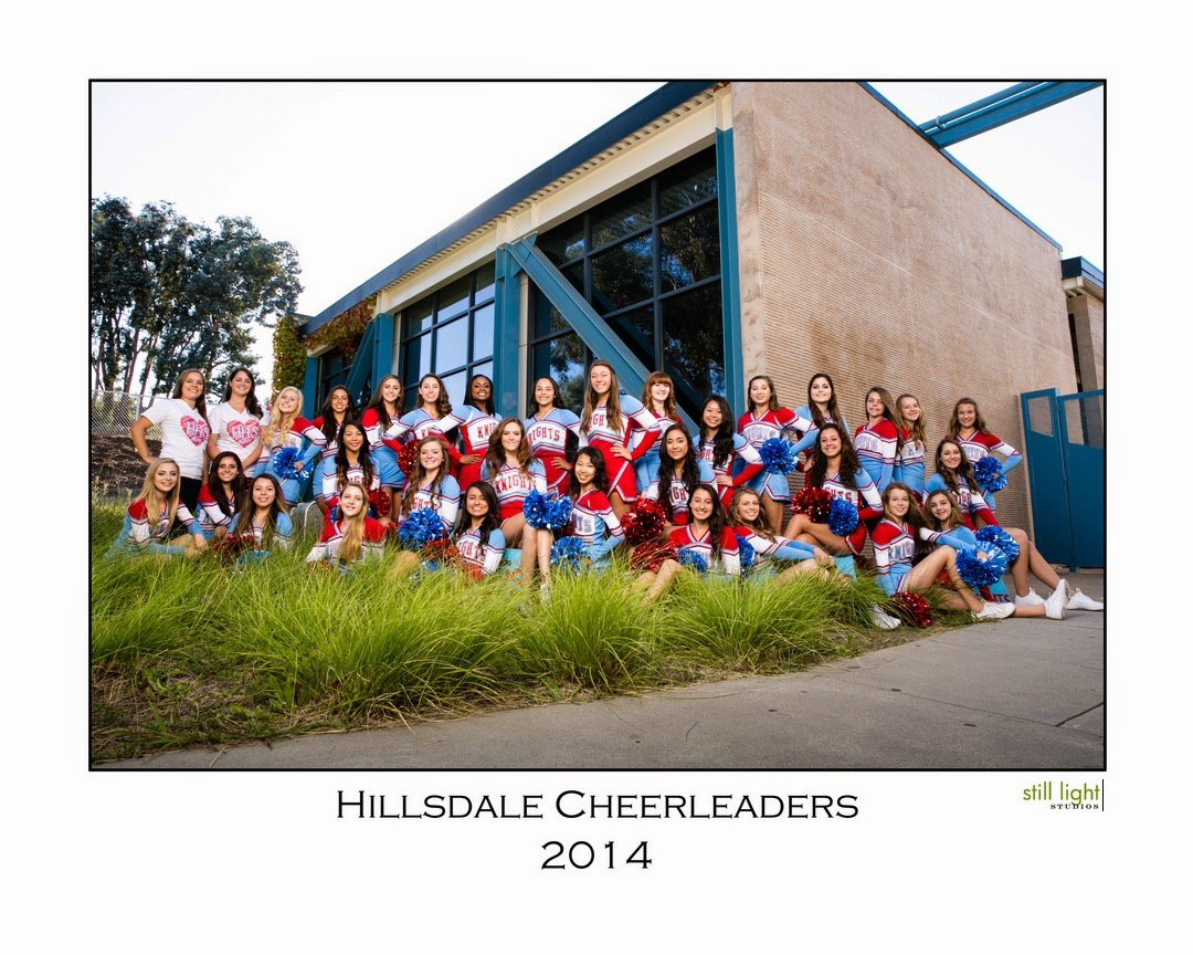 San Mateo Hillsdale High School Cheer Photo by Still Light Studios, School Sport Photography and Senior Portrait in Bay Area, cinematic, nature, cheerleaders