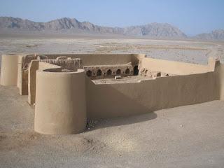 Caravanserai in Yazd - Iran