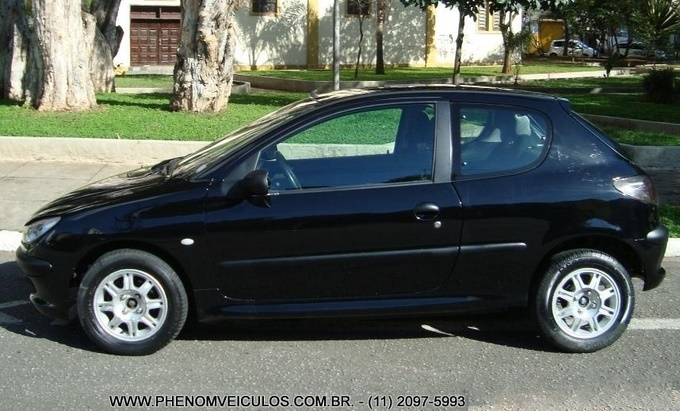 Peugeot 206 2004 1.4 Presence - lateral