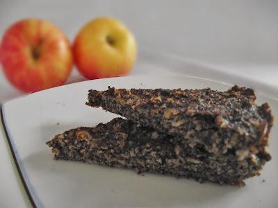 mákos paleo torta