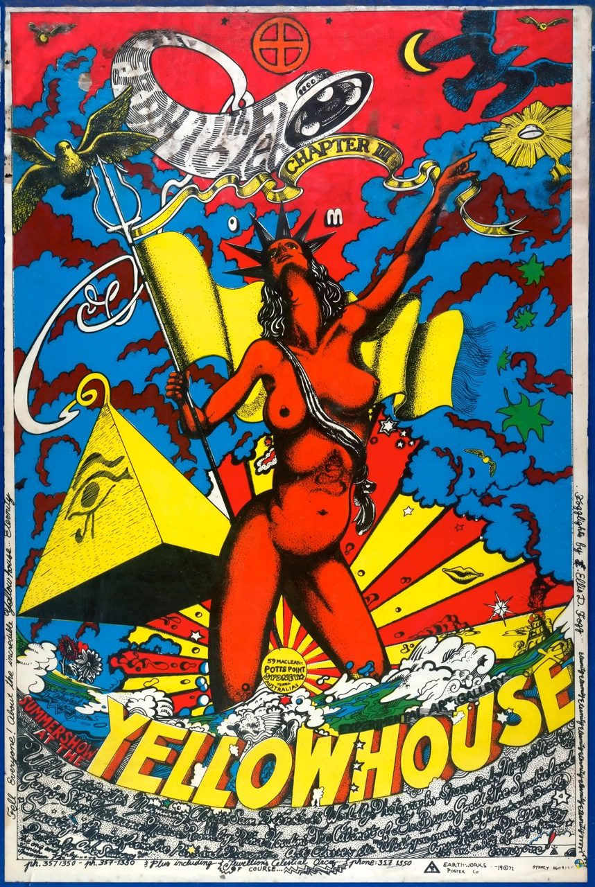 yellow house poster 1972