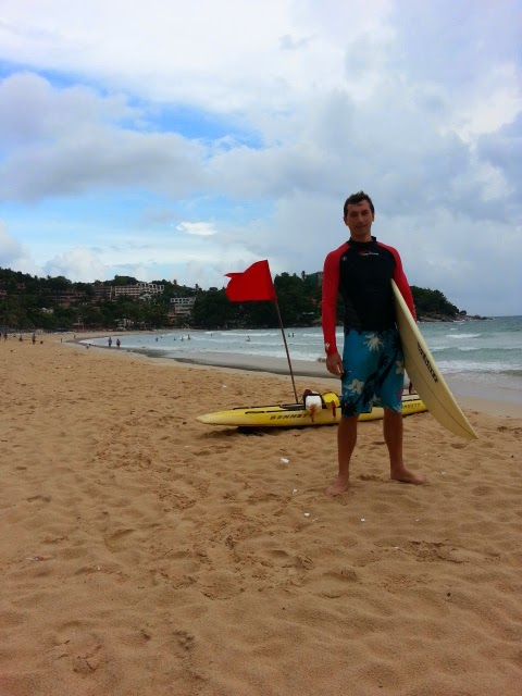 Surfing at Kata Beach - Phuket
