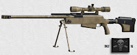 McMillan Tac-50 anti material rifle