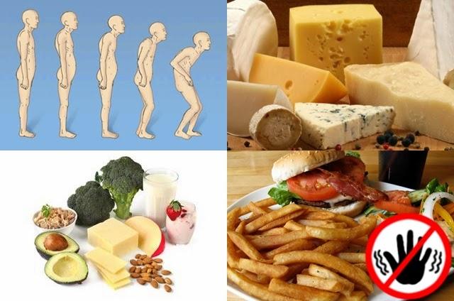 Pantangan Makanan Untuk Penderita Osteoporosis