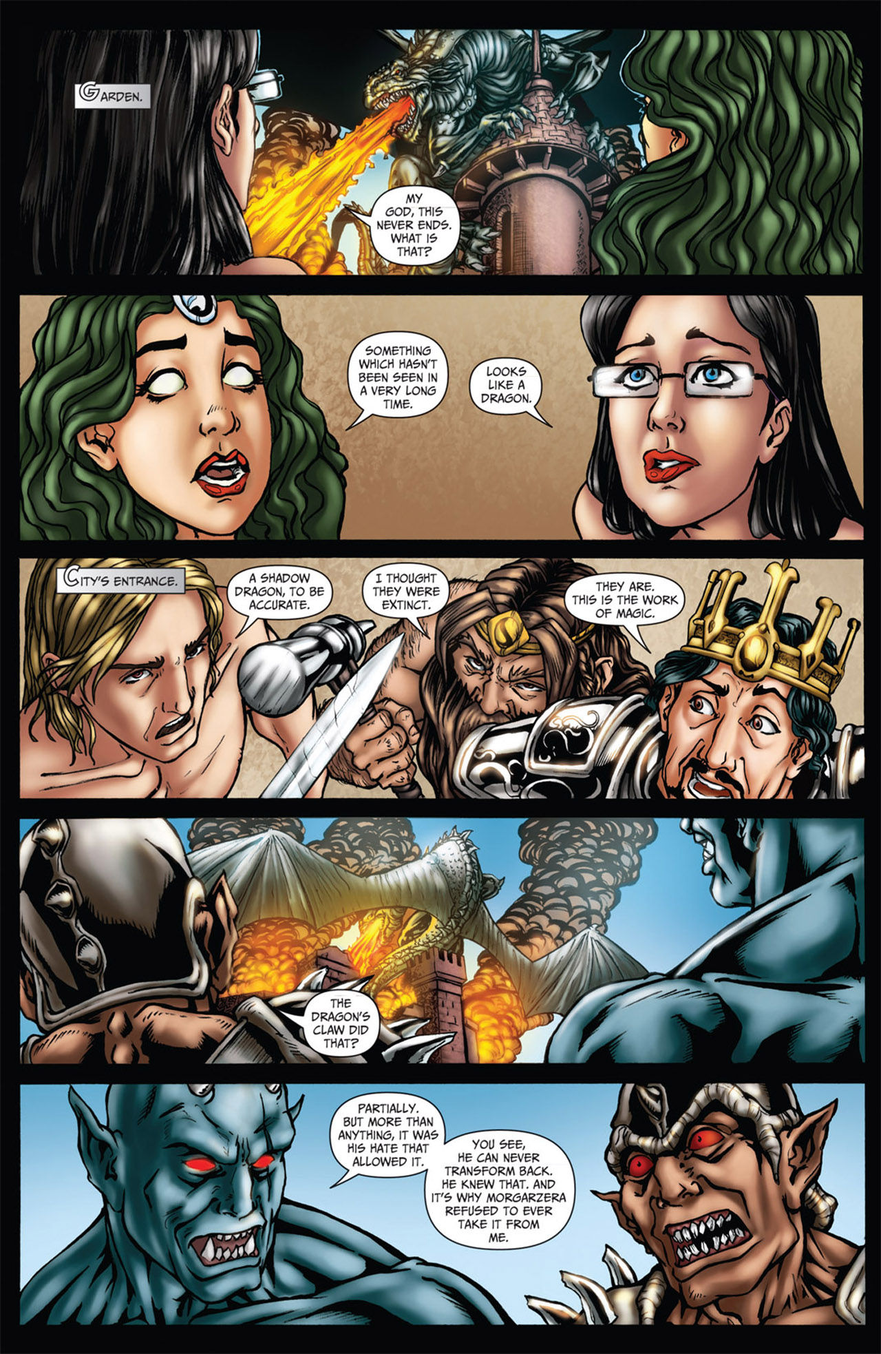 Grimm Fairy Tales (2005) Issue #61 #64 - English 8