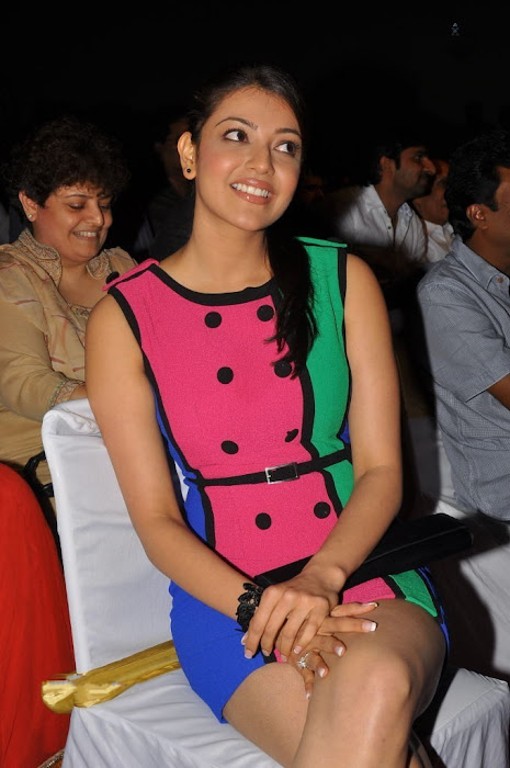 kajal at endukatne premanta audio launch hot images