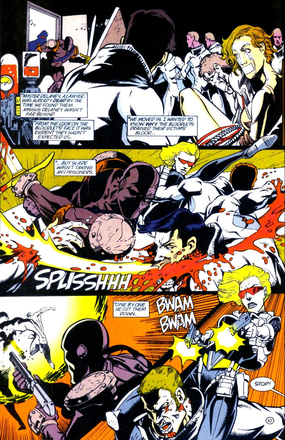 Deathstroke (1991) Issue #60 #65 - English 11