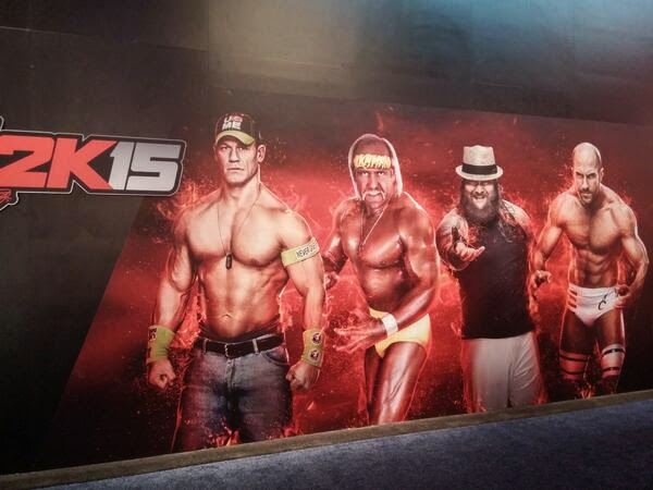 WWE 2K15 على ps3.ps4.xbox 360.one