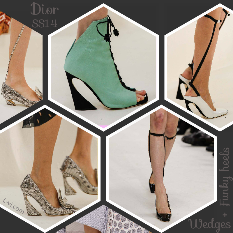 Dior SS14: Shoes    L-vi.com