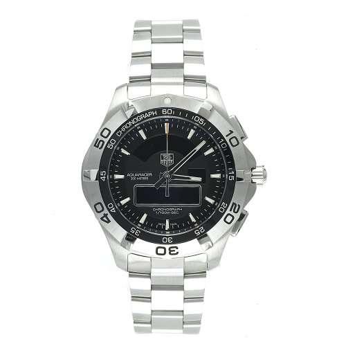 TAG Heuer Men's CAF1010.BA0821 Aquaracer Chronotimer Analog-Digital Watch