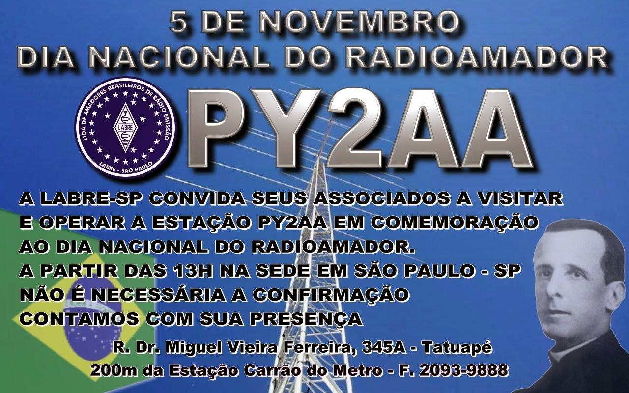 5 DE NOVEMBRO DIA DO RADIOAMADOR