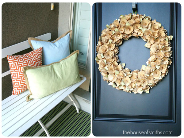 Our Home Tour - Front Porch and Entryway