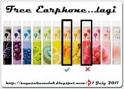 Free Earphone..Daaa