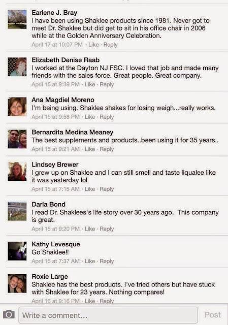 review dan komen pengguna tegar shaklee