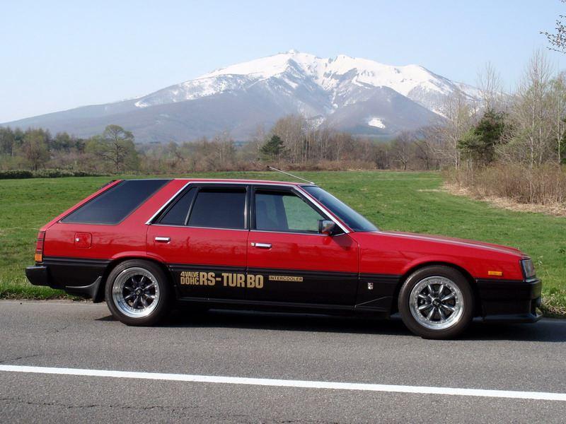 Nissan Skyline, wagon, kombi, R30, japoński samochód, motoryzacja, oldschool, klasyk, lata 80, zdjęcia, galeria