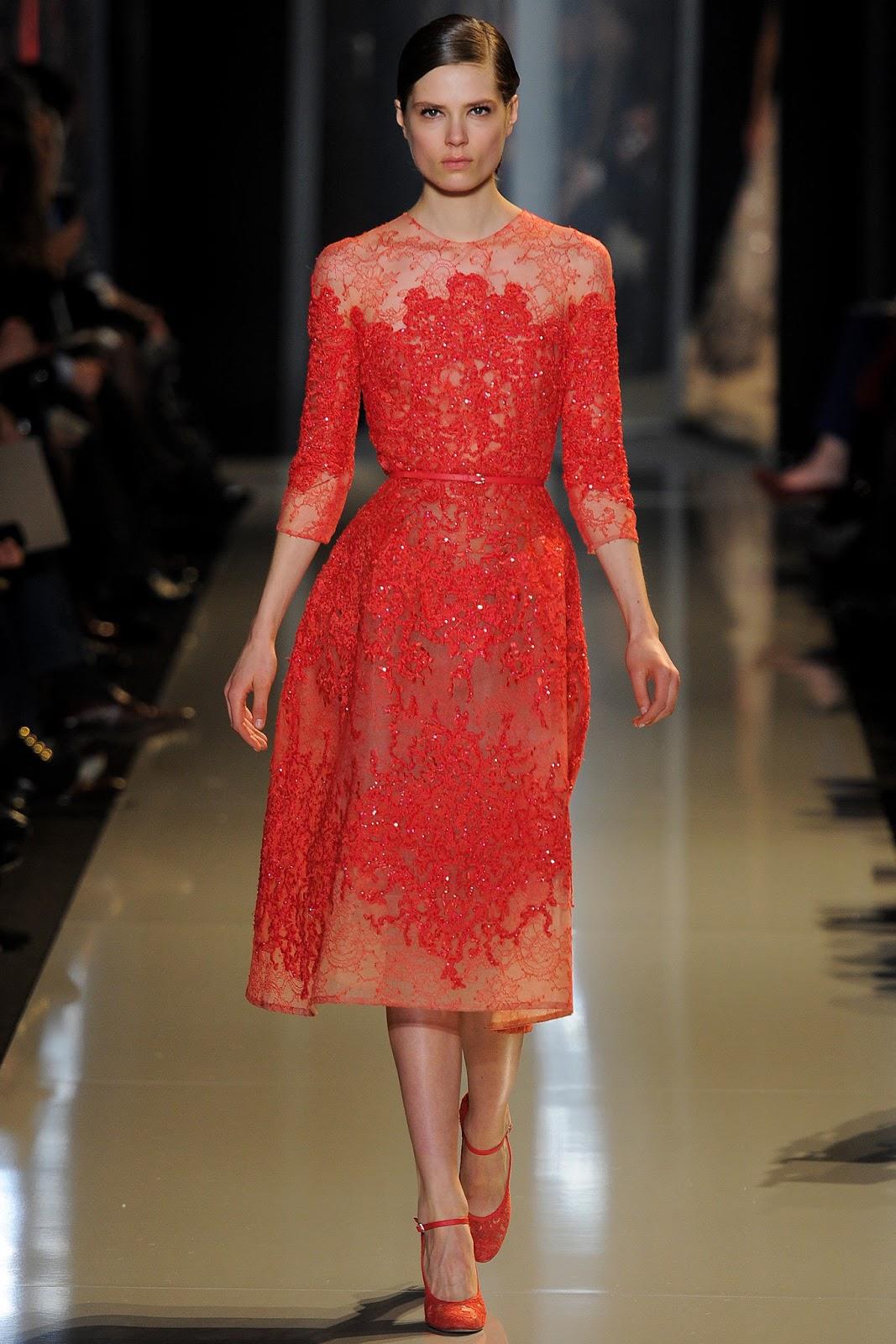 Модные платья от кутюр