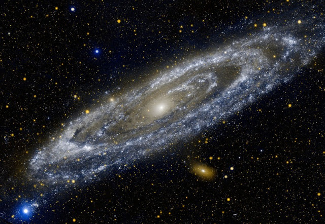 The galaxy Andromeda.