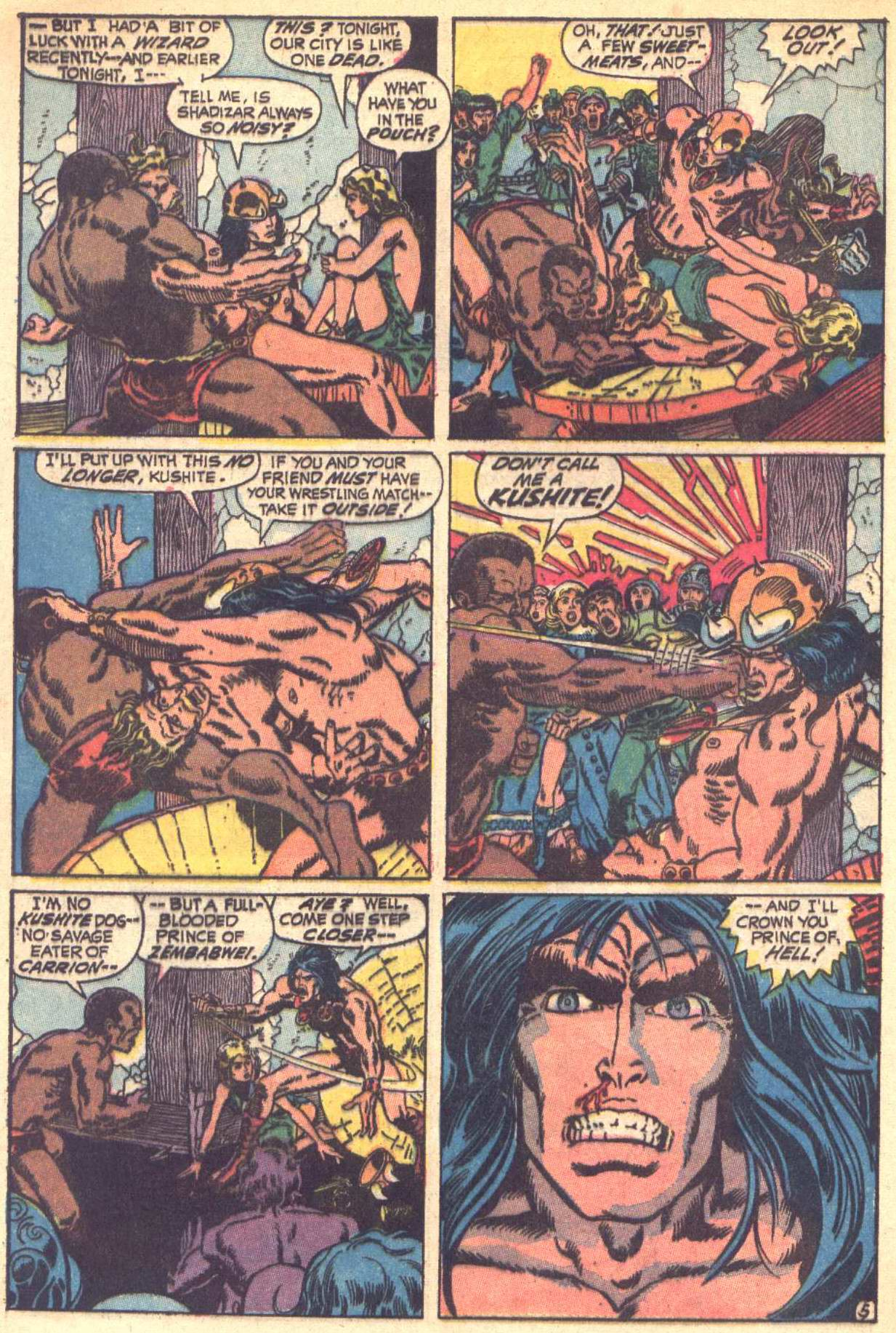 Conan the Barbarian (1970) Issue #6 #18 - English 6