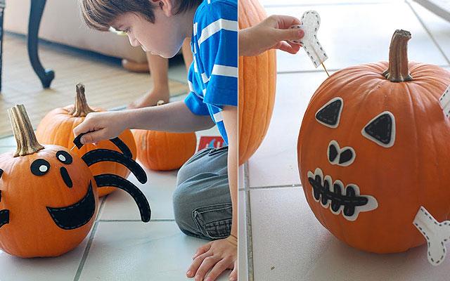 Soy au pair octubre 2012 - Plantillas para decorar calabazas halloween ...