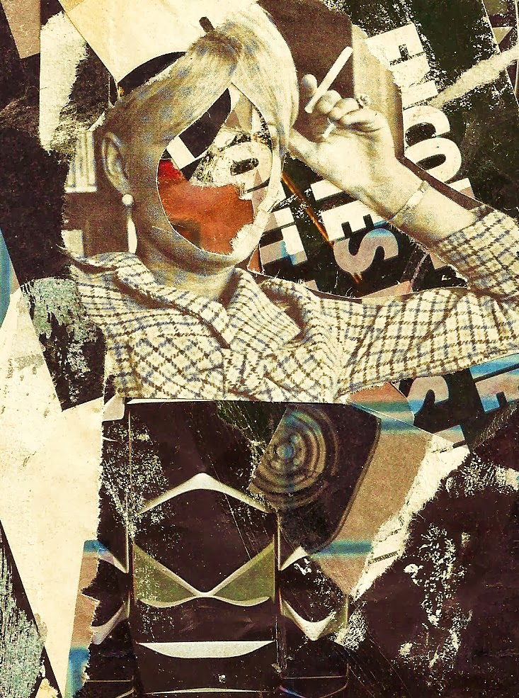 Magazine collage art tumblr