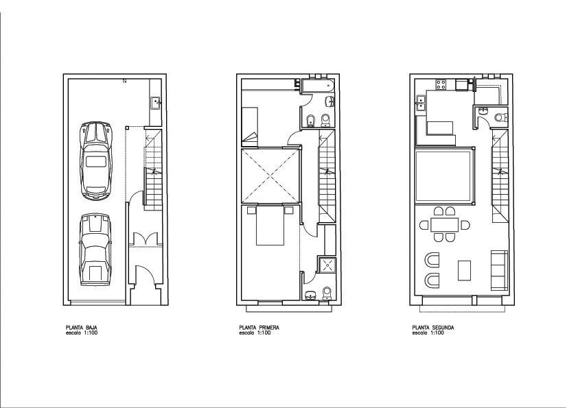 Alejandro pastore arquitecto vivienda unifamiliar entre - Vivienda entre medianeras ...