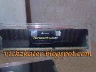 RAM CORSAIR VENGEANCE LP CML8GX3M2A1600C9 (2x4GB) DDR3 1600MHz Dual Channel