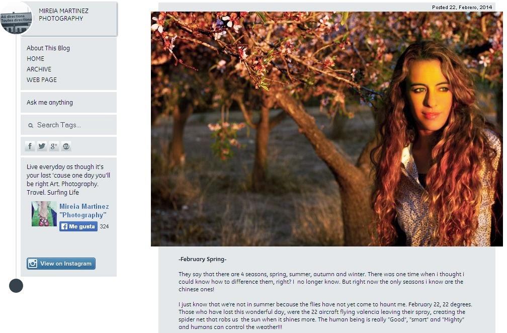 mireia martinez blog
