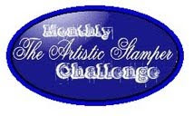 The Artistic Stamper Challenge Blog