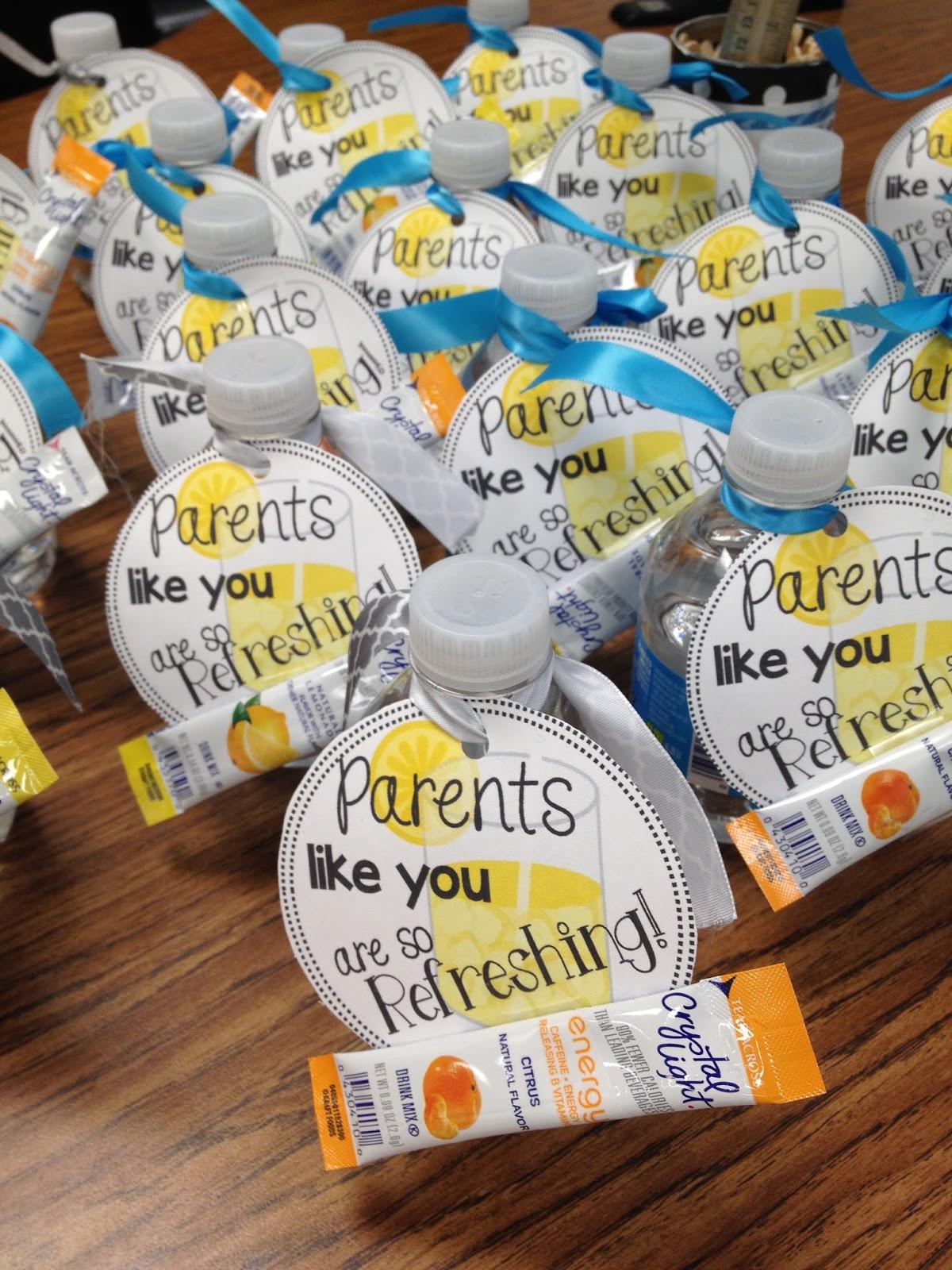 meet the teacher gift for parents