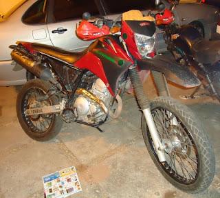 Moto roubada em Chapadinha