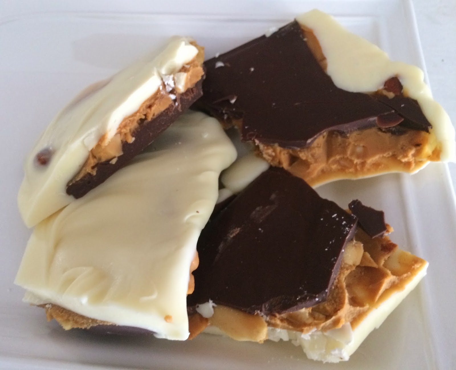 Peanut Butter Bark from Top Ate on Your Plate