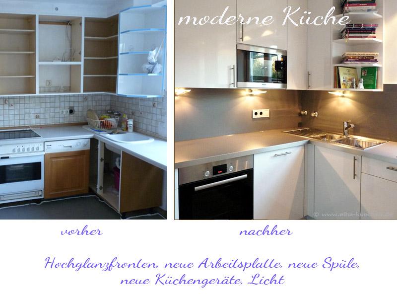 Stunning Küchenfronten Austauschen Erfahrungen Contemporary ...