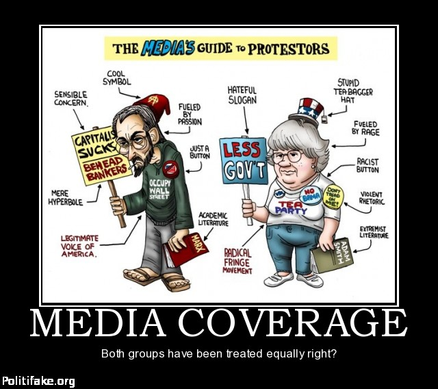 the bias in the media coverage The traditional media are playing a very, very dangerous game -- with their readers, with the constitution and with their own fates the sheer bias in the print and television coverage of this.