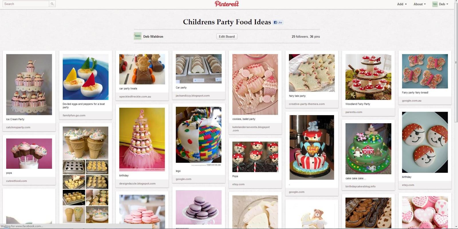 Pinterest Party Food Ideas