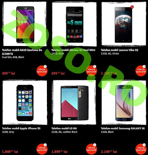 Oferta Emag Black Friday telefoane smartphone 20 noiembrie 2015