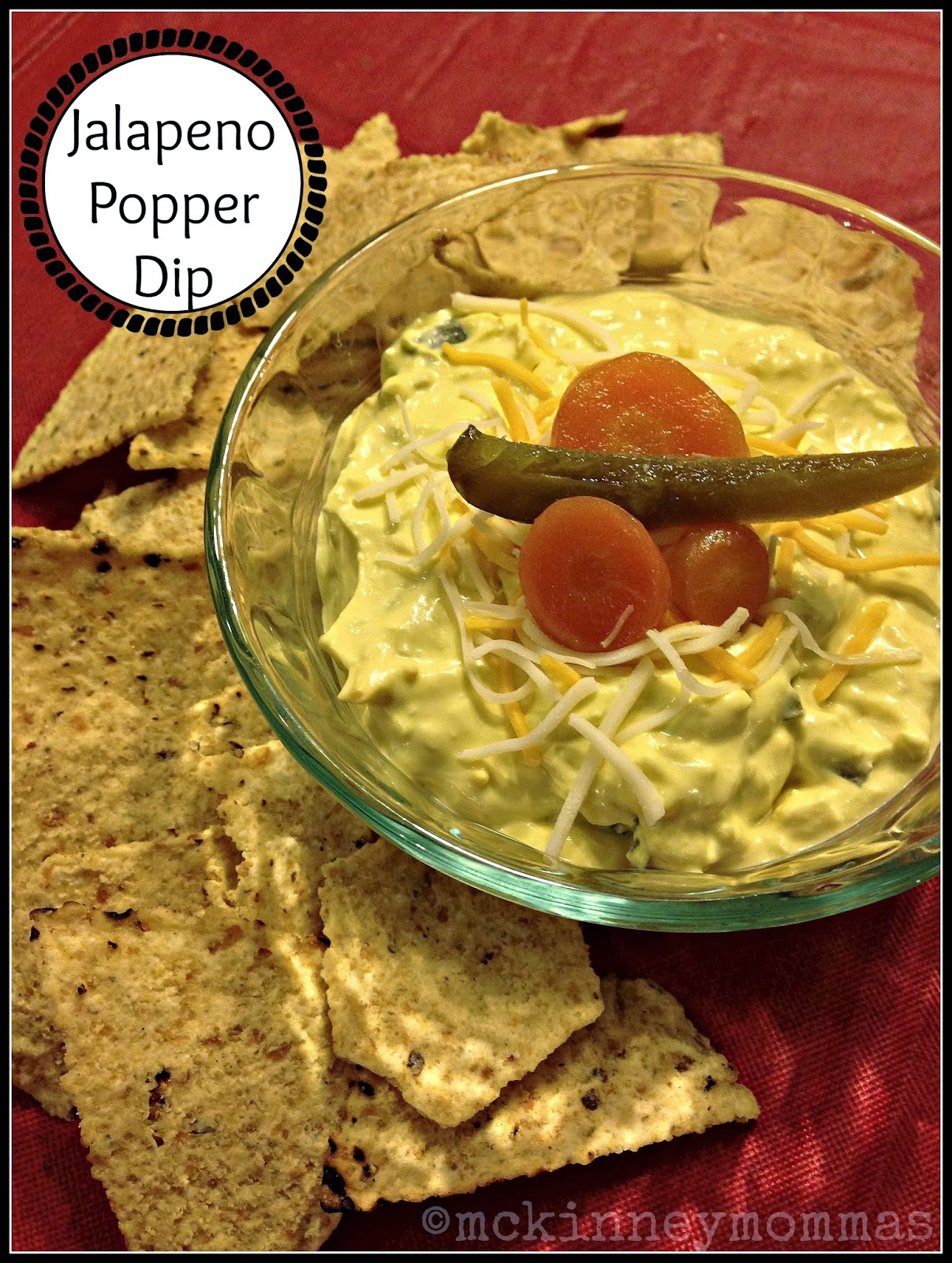 French's Mustard Jalapeno Popper Dip