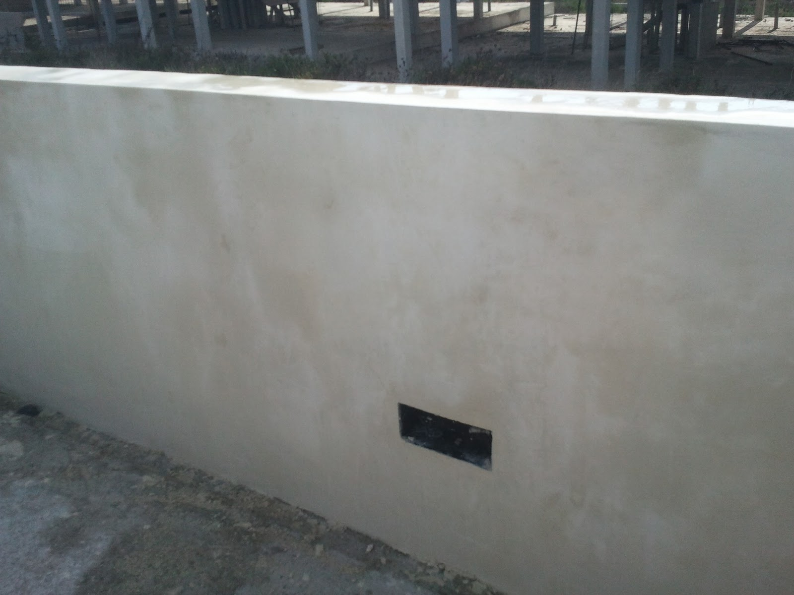Reformas julio camarena reforma terraza for Pared cemento pulido