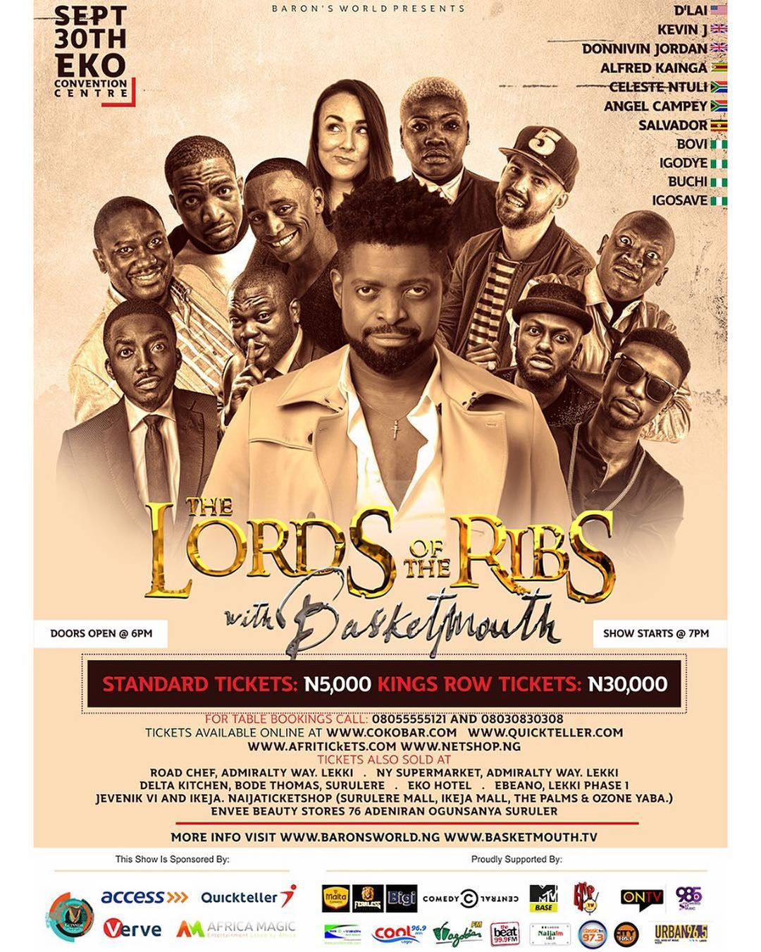 Lord Of The Ribs: Live in Lagos