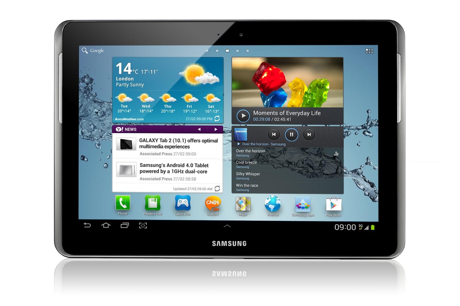 """Samsung Galaxy Tab 2 10.1"""" GT-5100 (Price: RM 1,499.00)"""