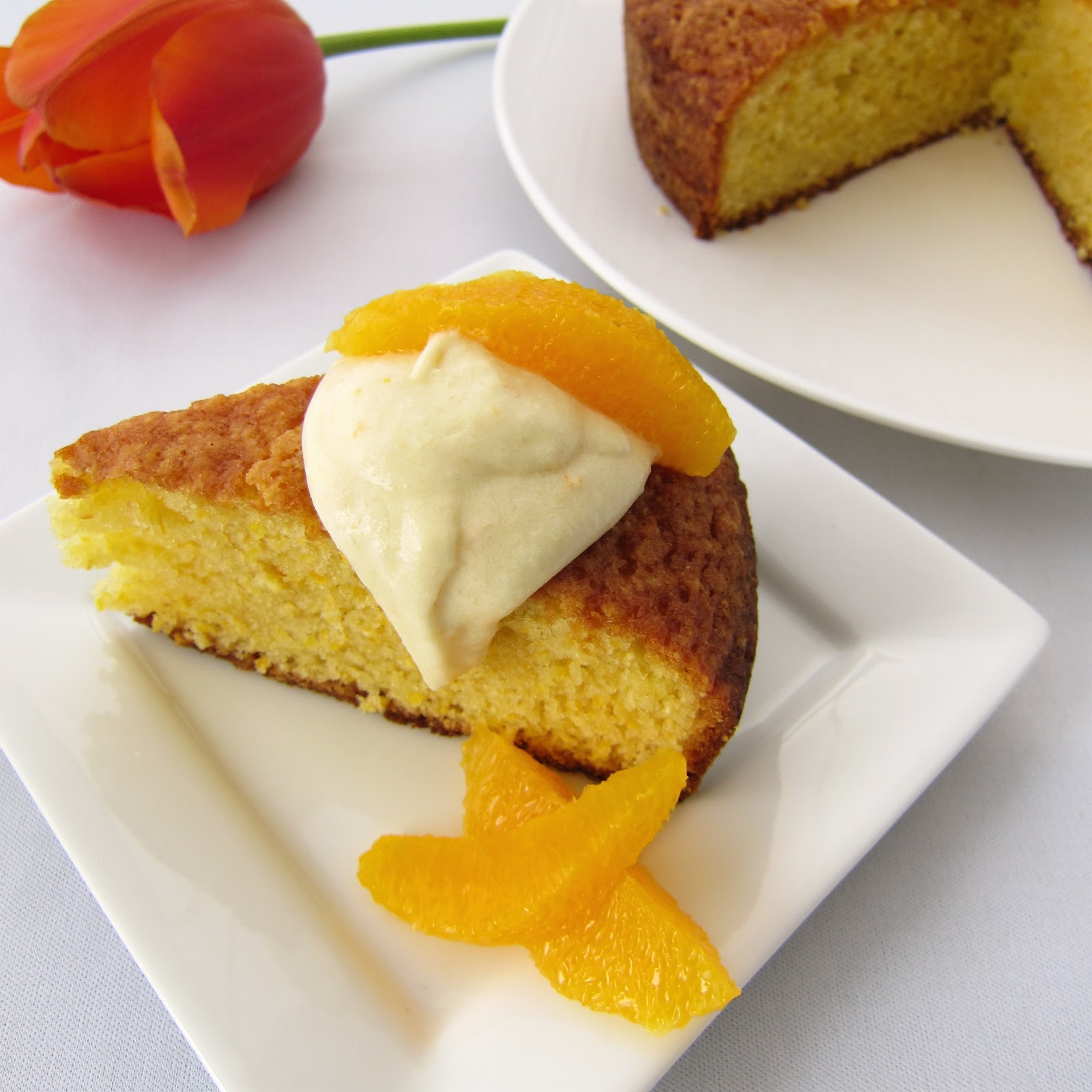 Clever Wren: Orange Cornmeal Cake
