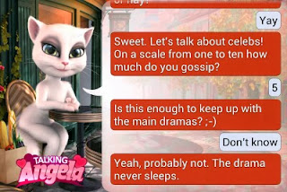 Talking Angela Questions