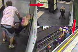British Police Releases Footage Of Baby Stroller Blown Onto Tracks