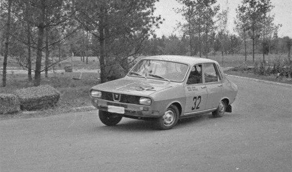 Romanian Car Dacia 1300 rally