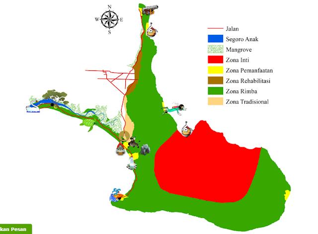 Peta Alas Purwo Banyuwangi