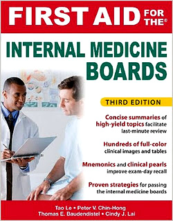 First Aid for the Internal Medicine Boards, 3rd Edition– 2011 Edition