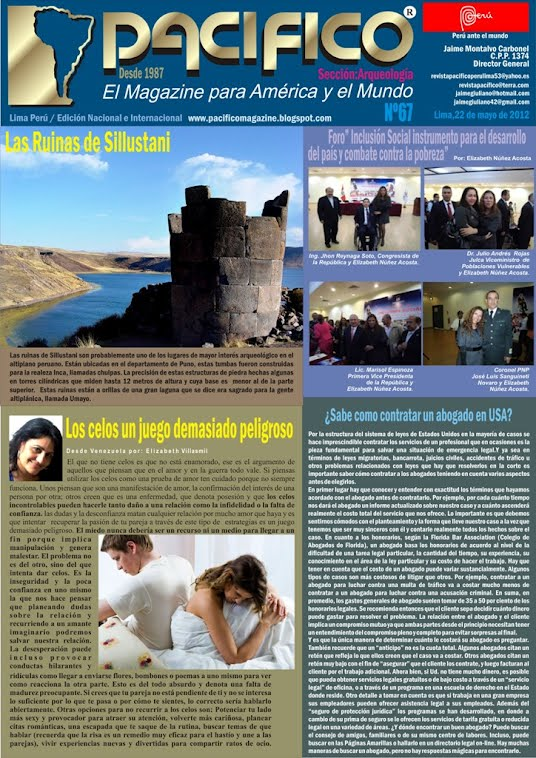 Revista Pacífico Nº67 Arqueología