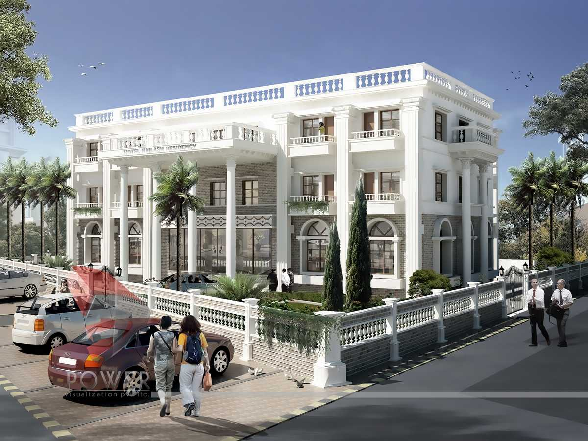 3d hotel design 3d architectural rendering