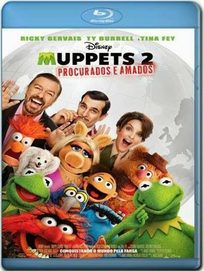 Baixar Muppets 2 Procurados e Amados AVI BDRip Dual Áudio + Bluray 720p e 1080p Torrent
