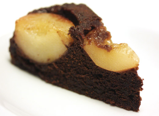lisa is cooking: Chocolate Pear Cake