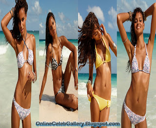 Gracie Carvalho Swimwear Photo shoot, Calzedonia Swimwear Photo shoot